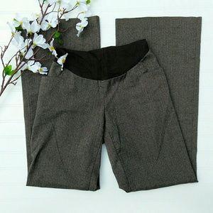 Motherhood brown fishtail wide leg trousers sz M